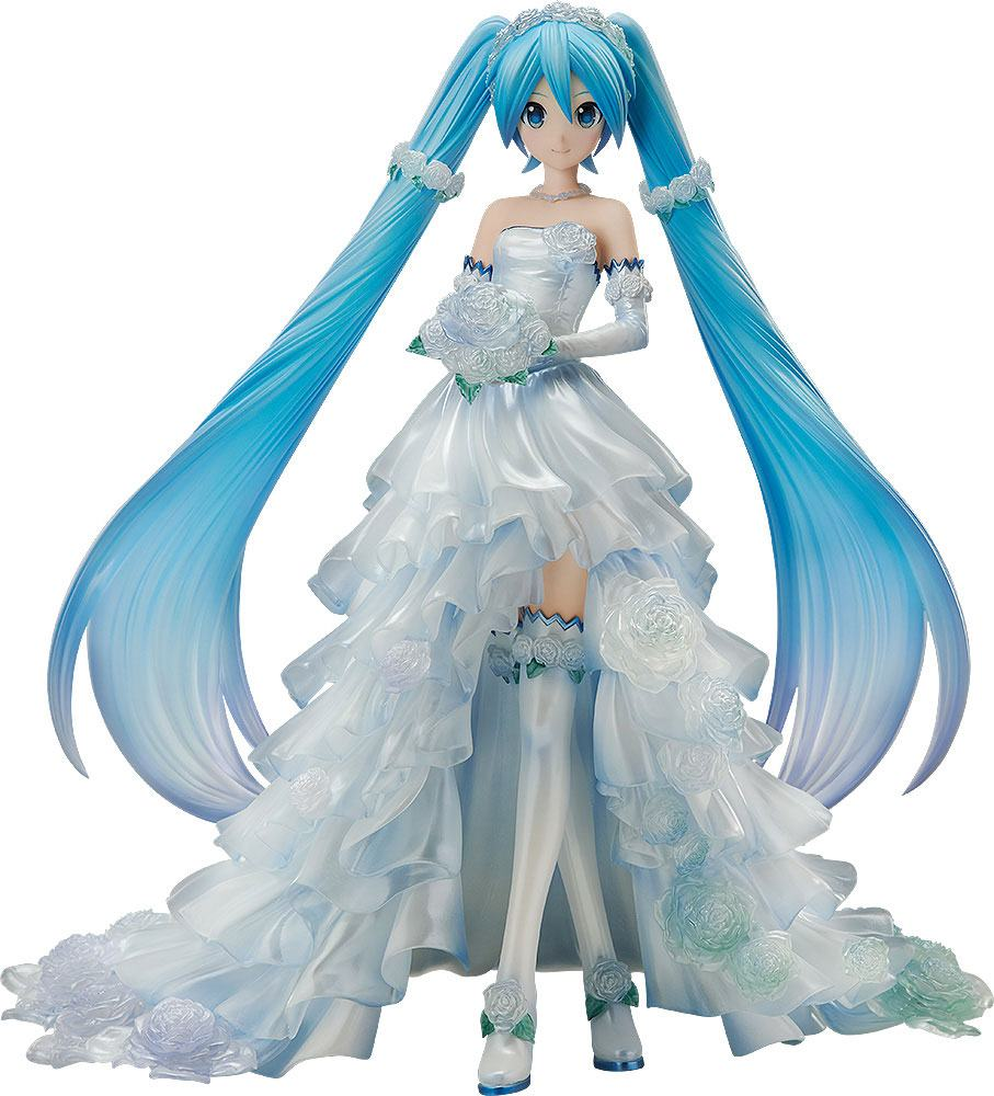 Character Vocal Series 01 Statue 1/7 Hatsune Miku Wedding Dress Ver. 25 cm