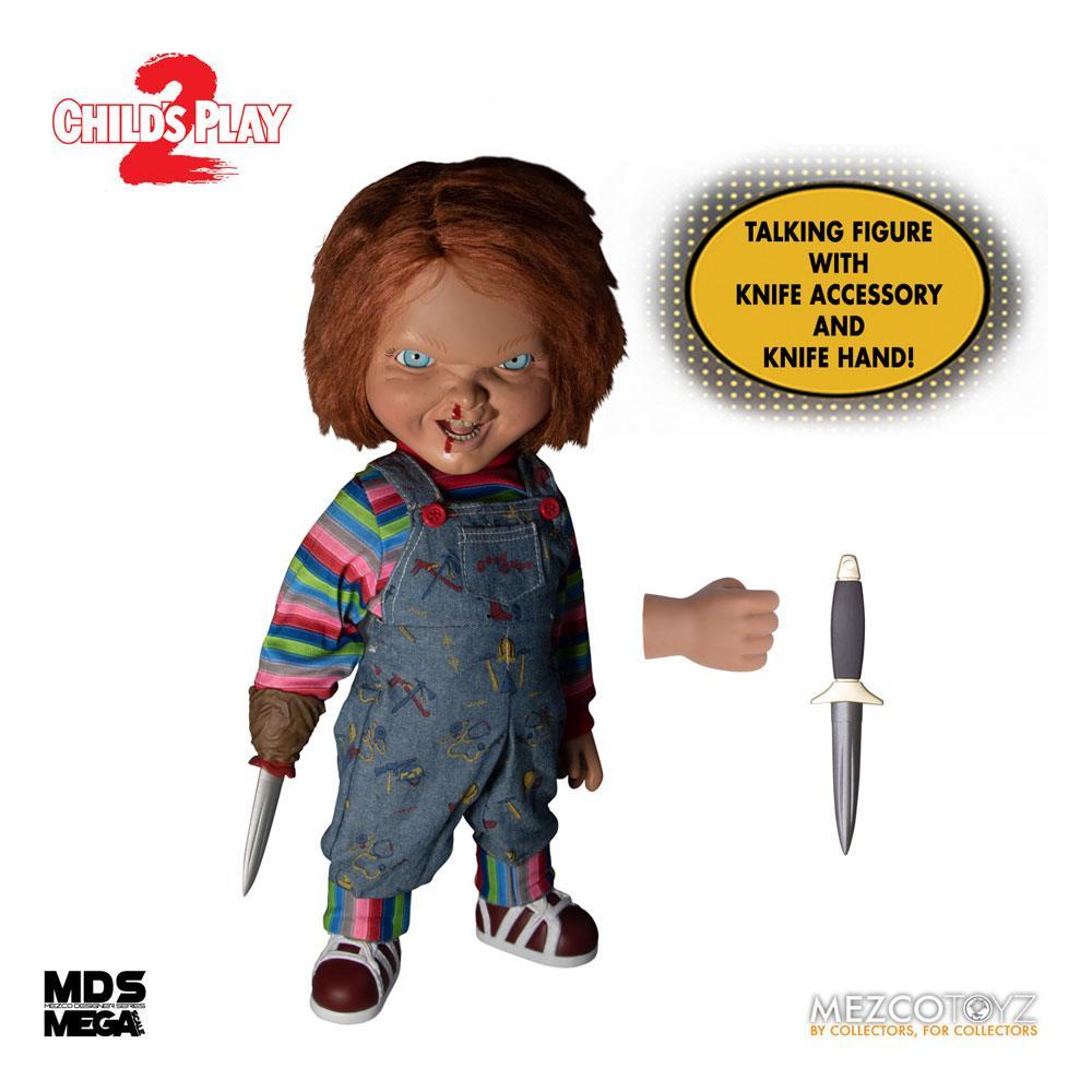 Child´s Play 2 Designer Series Talking Menacing Chucky 38 cm