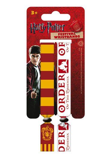 Harry Potter Festival Wristband 2-Pack Gryffindor