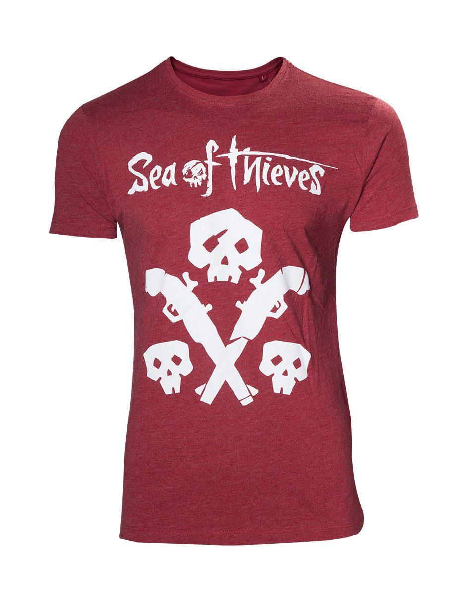 Sea of Thieves T-Shirt Skulls & Guns Size L
