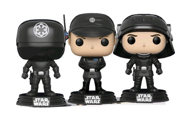 Star Wars POP! Vinyl Figure 3-Pack Gunner, Officer & Trooper 9 cm