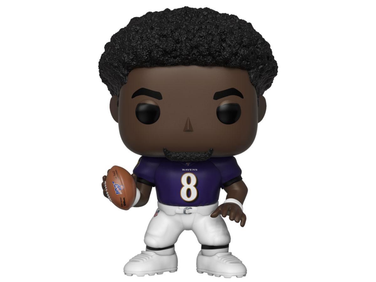NFL POP! Football Vinyl Figure Lamar Jackson (Ravens) 9 cm