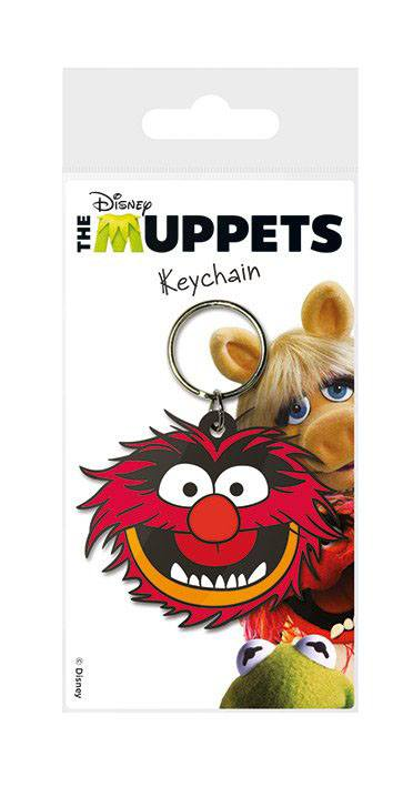 The Muppets Rubber Keychain Animal 6 cm