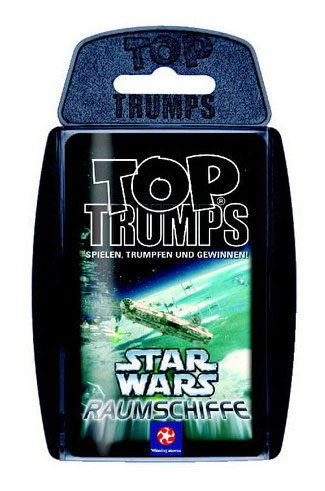 Star Wars Vehicles Top Trumps *German Version*
