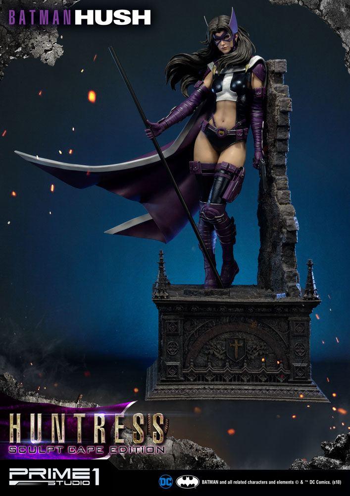 Batman Hush Statue 1/3 Huntress Sculpt Cape Edition 82 cm