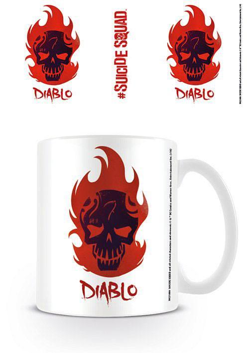 Suicide Squad Mug Diablo Skull