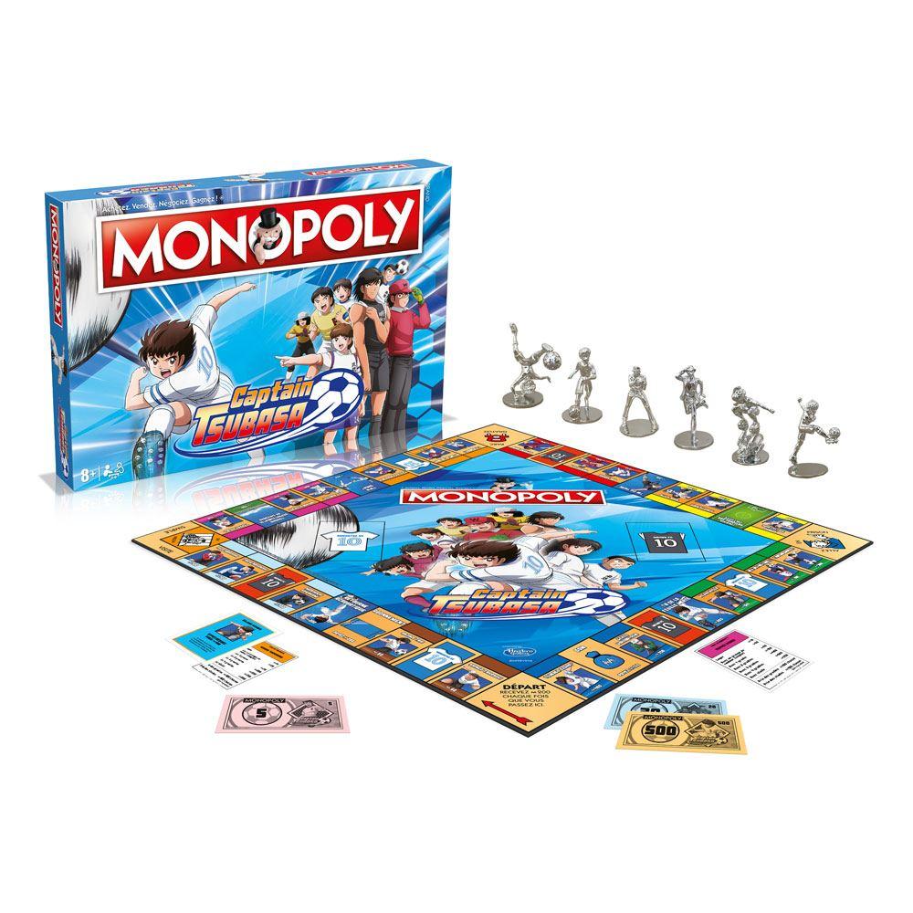 Captain Tsubasa Board Game Monopoly *French Version* --- DAMAGED PACKAGING