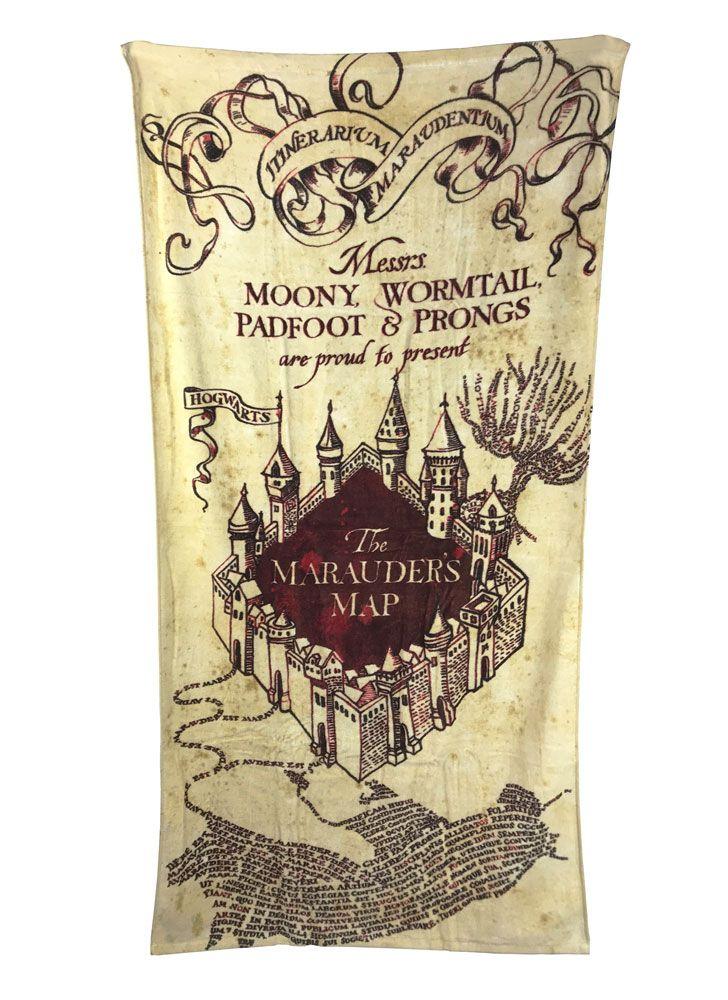 Harry Potter Towel Marauder's Map 150 x 75 cm