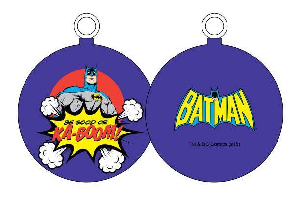DC Comics Ornament Batman Be Good Or Ka-Boom