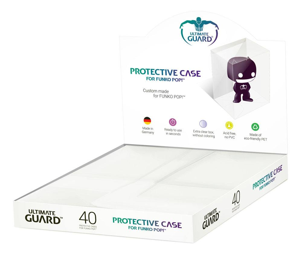 Ultimate Guard Protective Case for Funko POP!™ Figures in Counter-Top Display (40)
