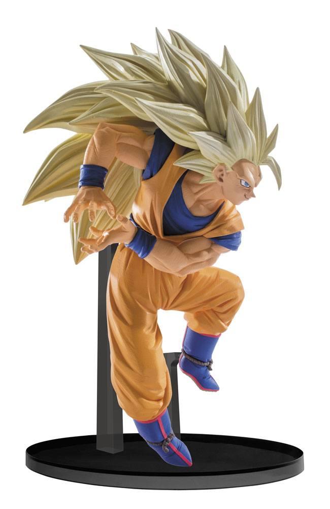 Dragon Ball Super Scultures PVC Statue Big Budoukai 6 vol. 6 Super Saiyan 3 Goku 13 cm