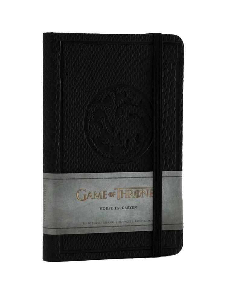 Game of Thrones Pocket Journal House Targaryen