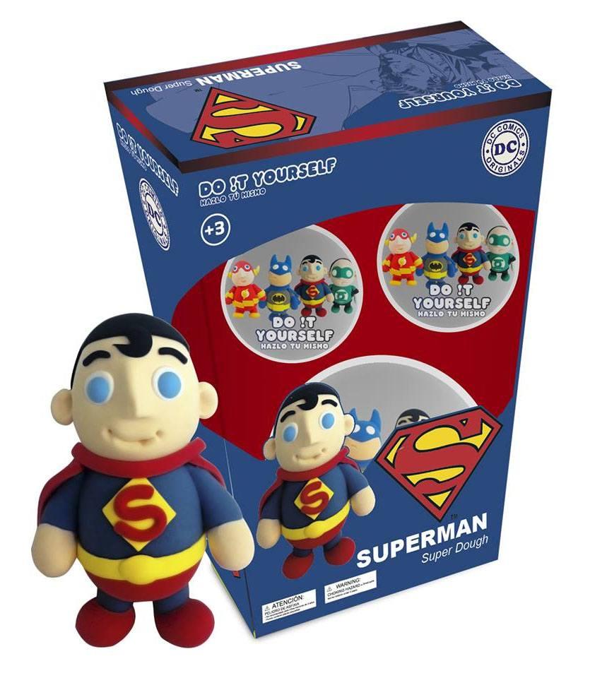 DC Comics D!Y Super Dough Modelling Clay Superman