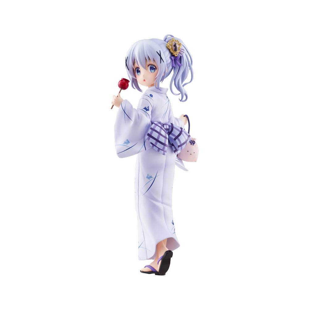 Is the Order a Rabbit PVC Statue 1/7 Chino (Summer Festival) 22 cm