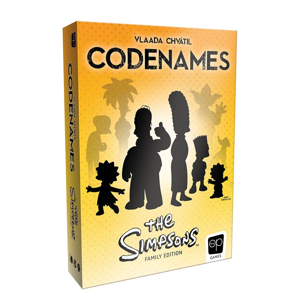 Codenames Board Game The Simpsons Family Edition *English Version*