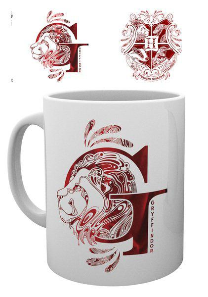 Harry Potter Mug Gryffindor Monogram