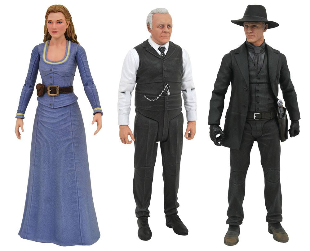 Westworld Select Action Figures 18 cm Series 1 Assortment (6)