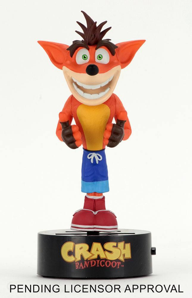 Crash Bandicoot Body Knocker Bobble-Figure Crash 16 cm