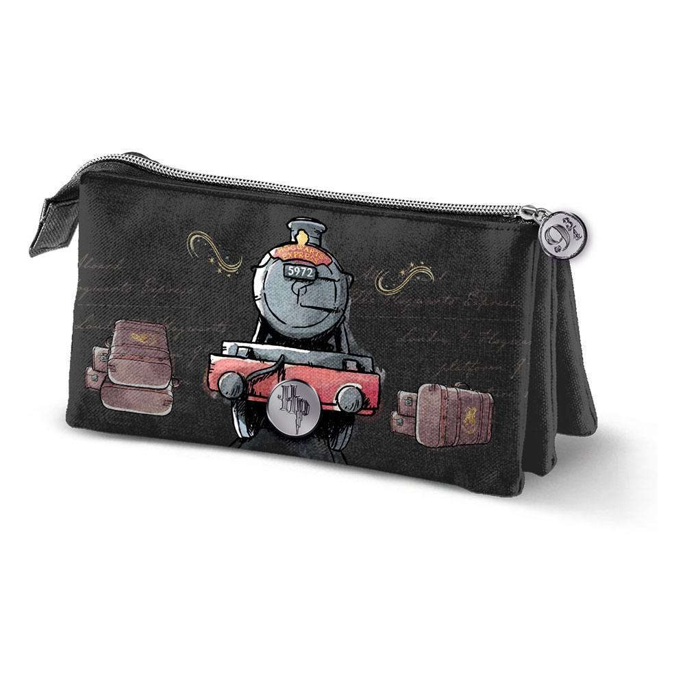 Harry Potter Pencil Case Hogwarts Express Triple