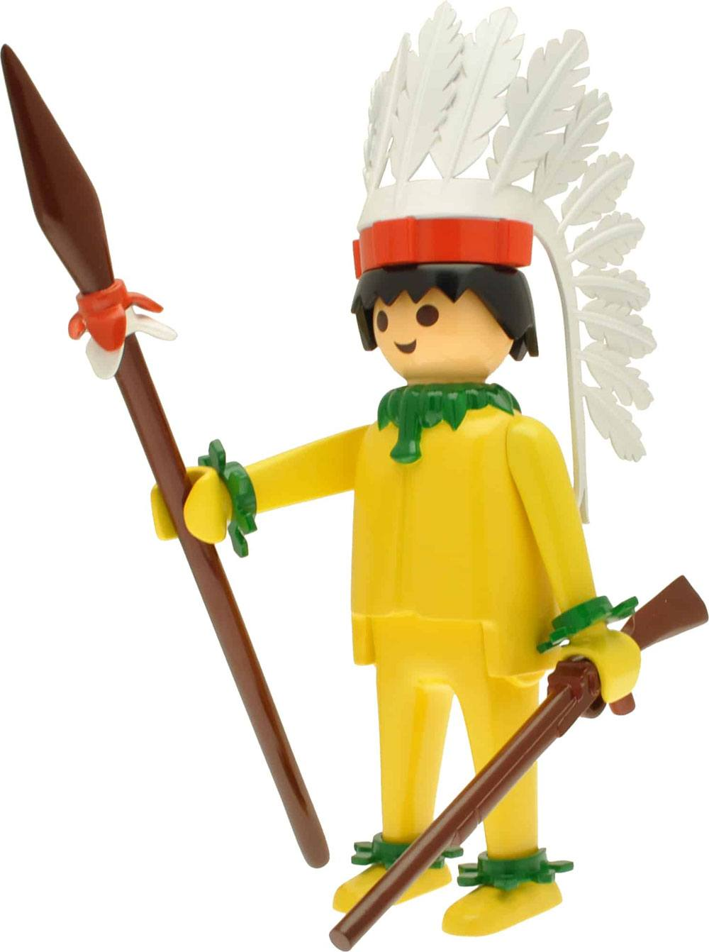 Playmobil Nostalgia Collection Figure Indian Chief 25 cm
