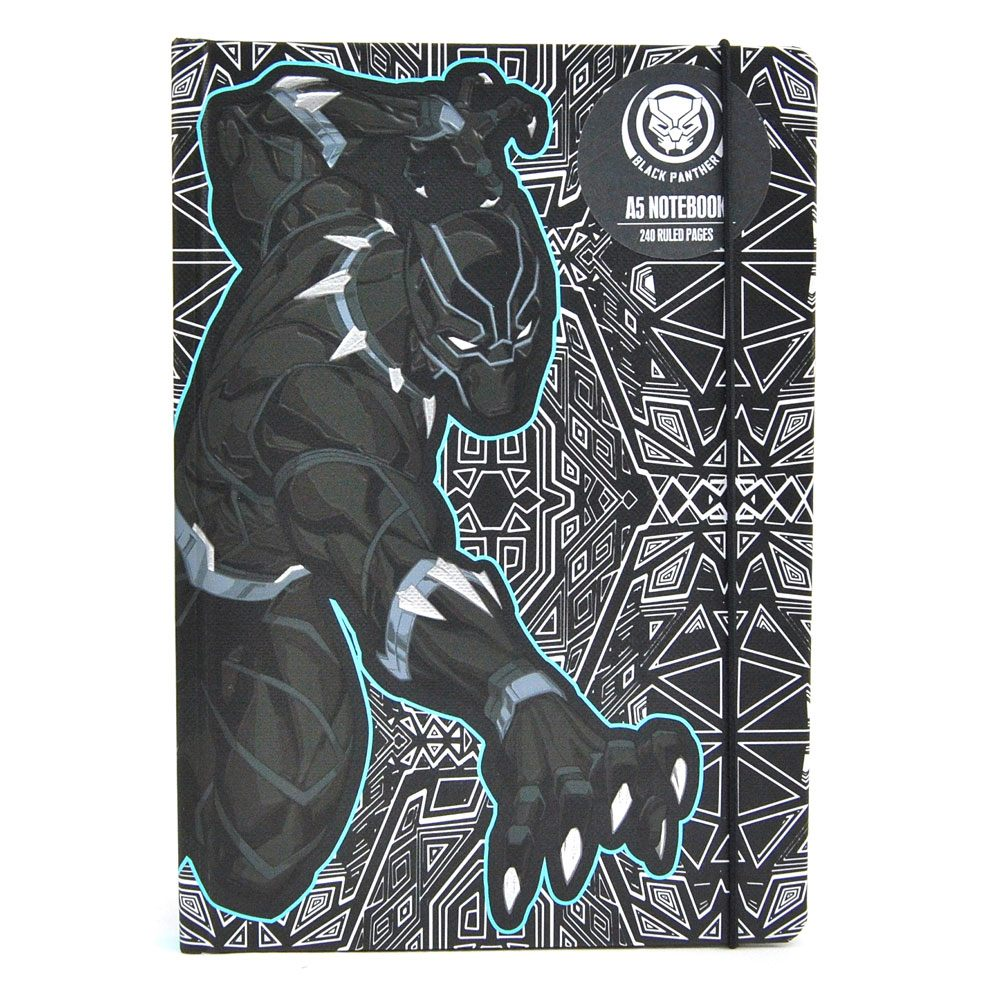 Marvel Comics A5 Notebook Black Panther