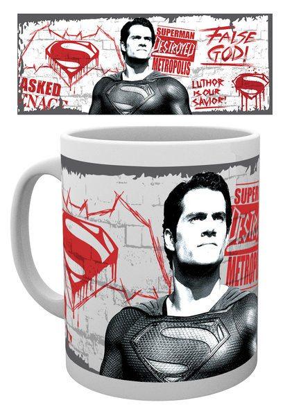 Batman v Superman Dawn of Justice Mug False God