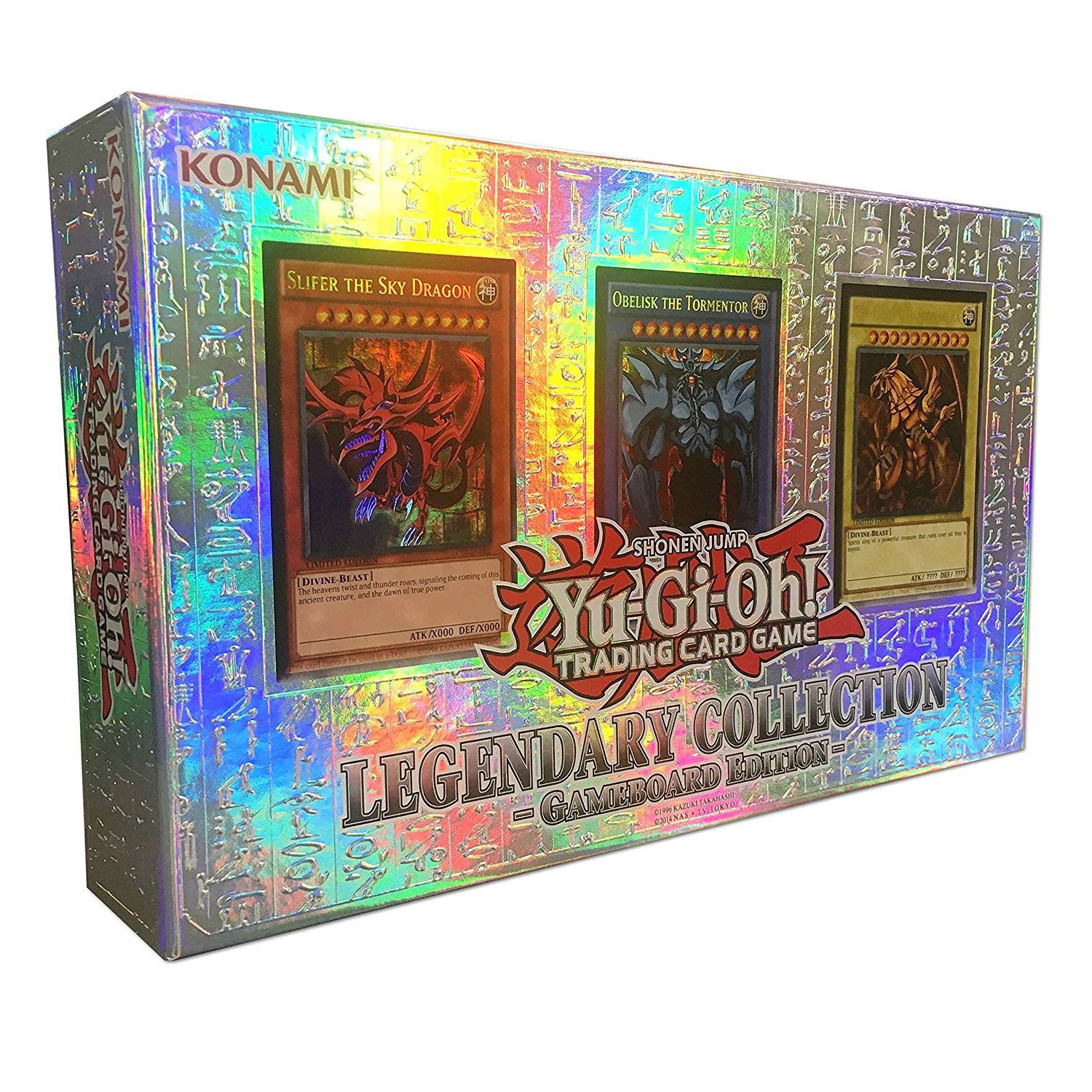 Yu-Gi-Oh! Box Set Legendary Collection 1 Gameboard Edition *German Version*