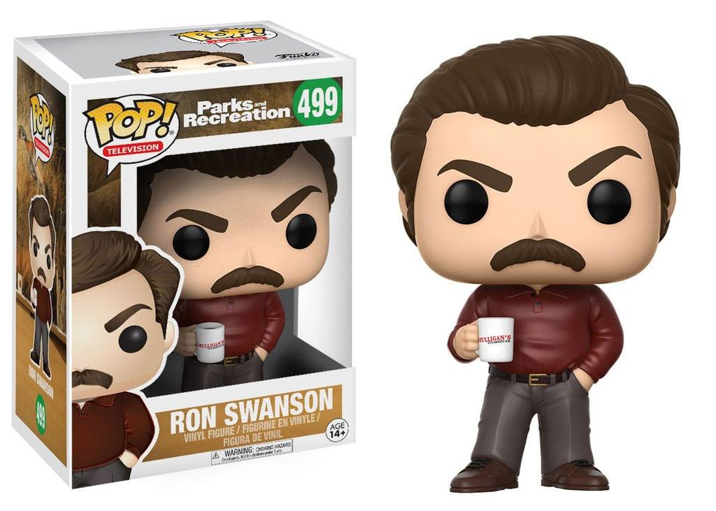 Parks and Recreation POP! TV Vinyl Figure Ron Swanson 9 cm