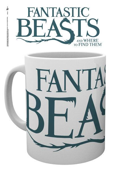 Fantastic Beasts Mug Logo