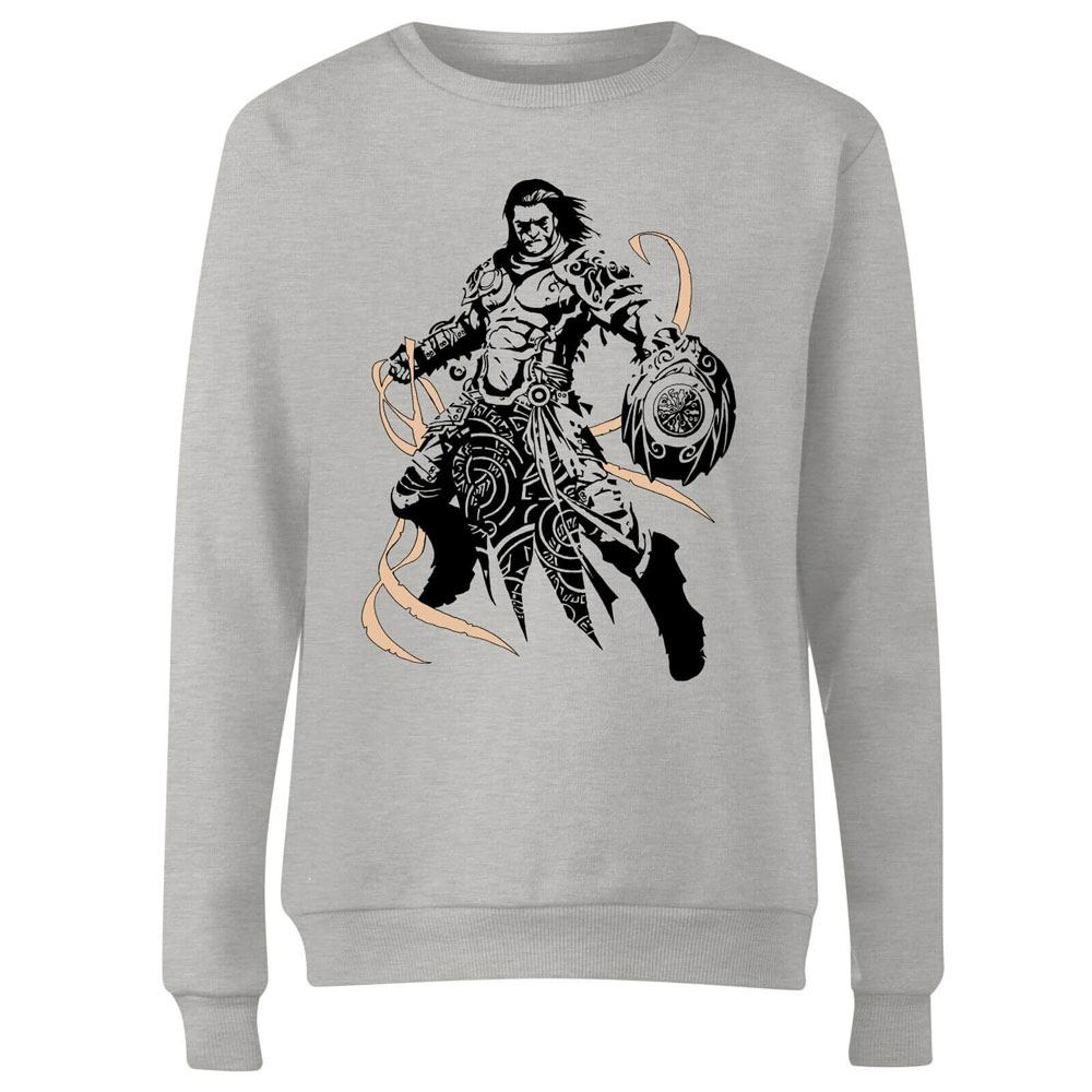 Magic the Gathering Ladies Sweatshirt Gideon Character Art Size M