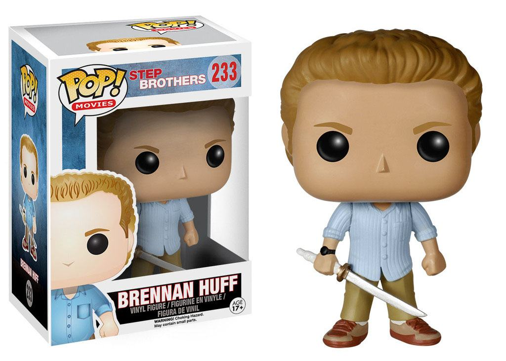 Step Brothers POP! Movies Vinyl Figure Brennan Huff 9 cm