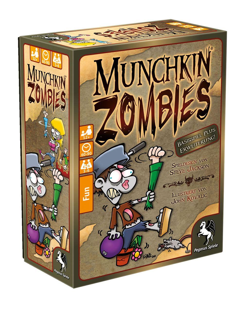 Munchkin Zombies Card Game 1+2 *German Version*