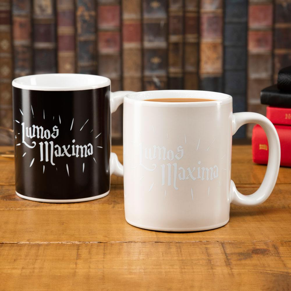 Harry Potter Heat Change Mug Lumos