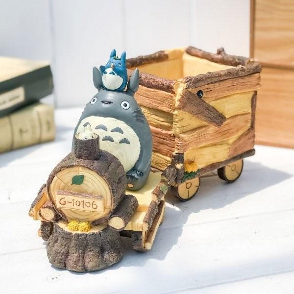 My Neighbor TotoroPlant Pot Totoro Train 25 cm