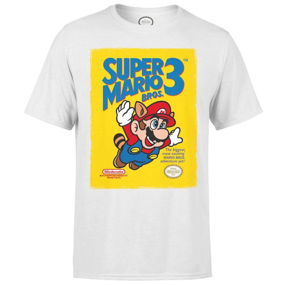 Nintendo T-Shirt Super Mario Bros. 3 Size L