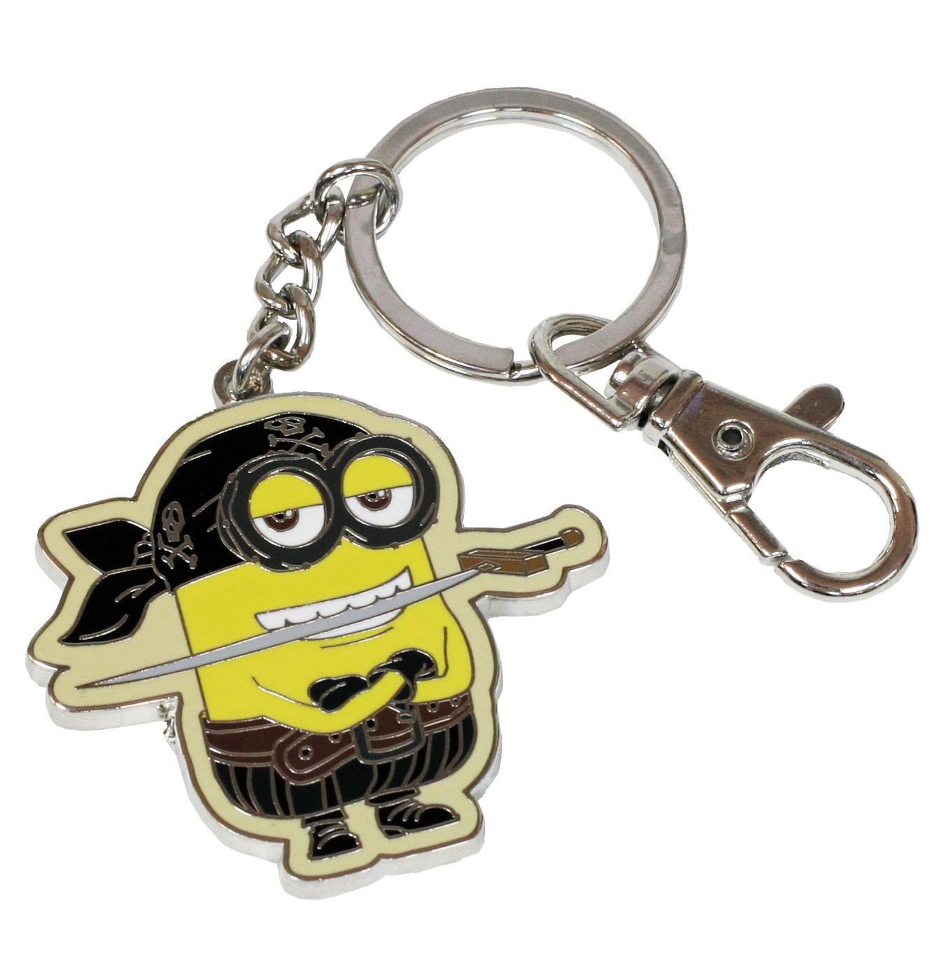 Minions Metal Keychain Eye Matie 7 cm