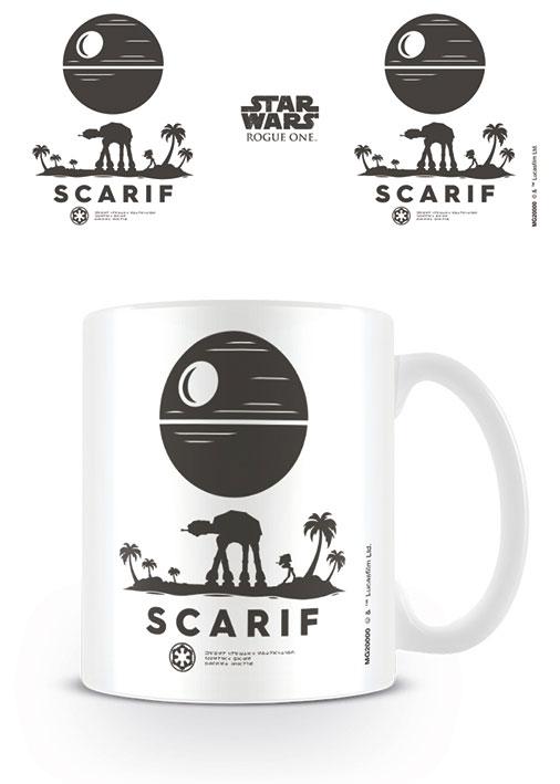 Star Wars Rogue One Mug Scarif Symbol