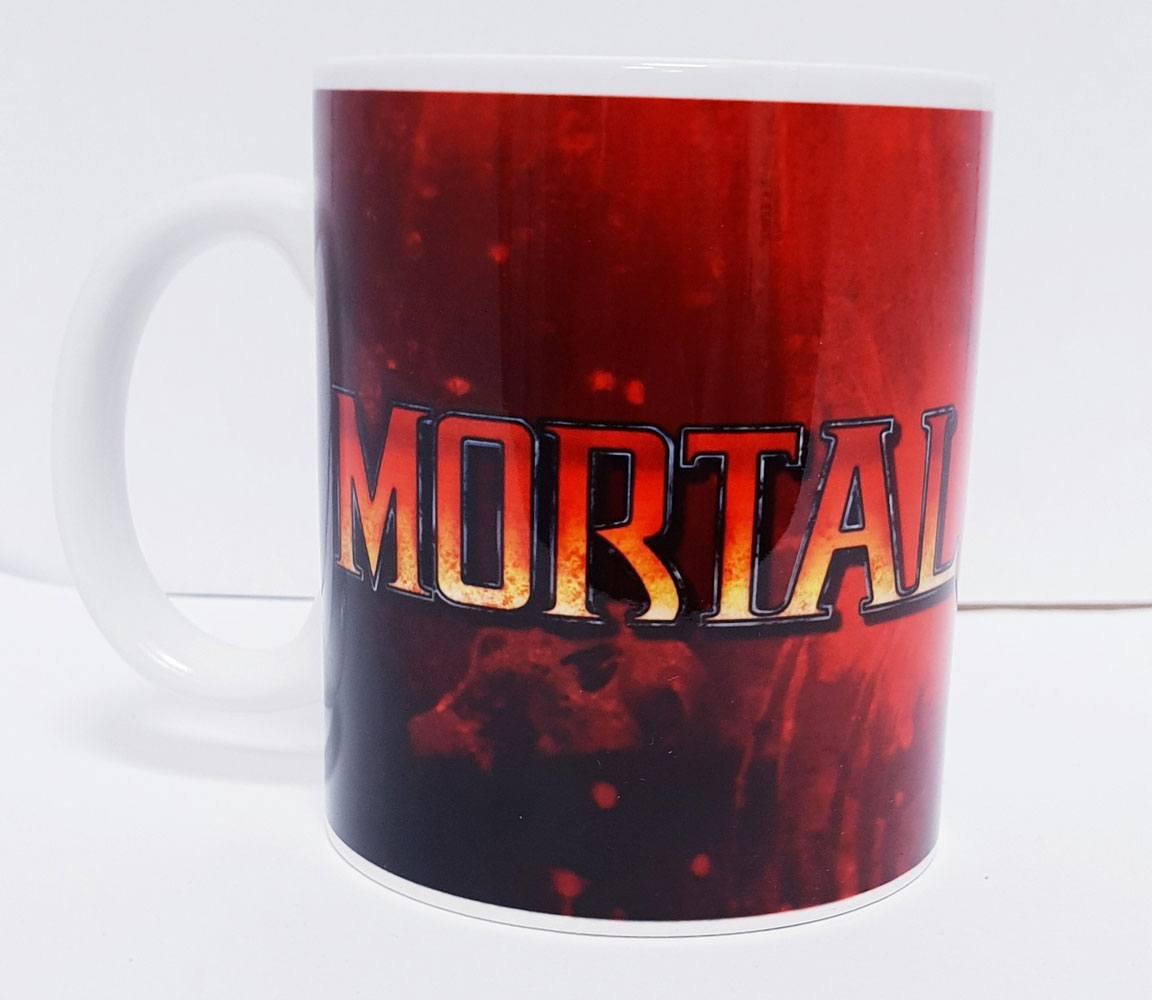 Mortal Kombat Mug Logo