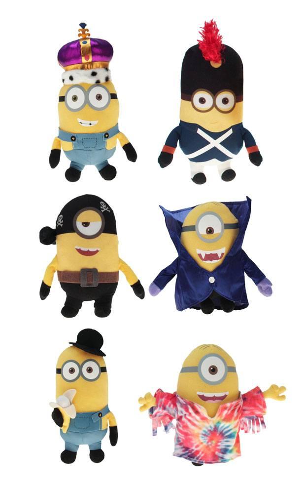 Minions Plush Figures Movie 22 cm Assortment (6)