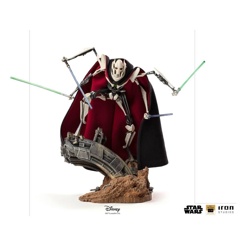 Star Wars Deluxe BDS Art Scale Statue 1/10 General Grievous 33 cm