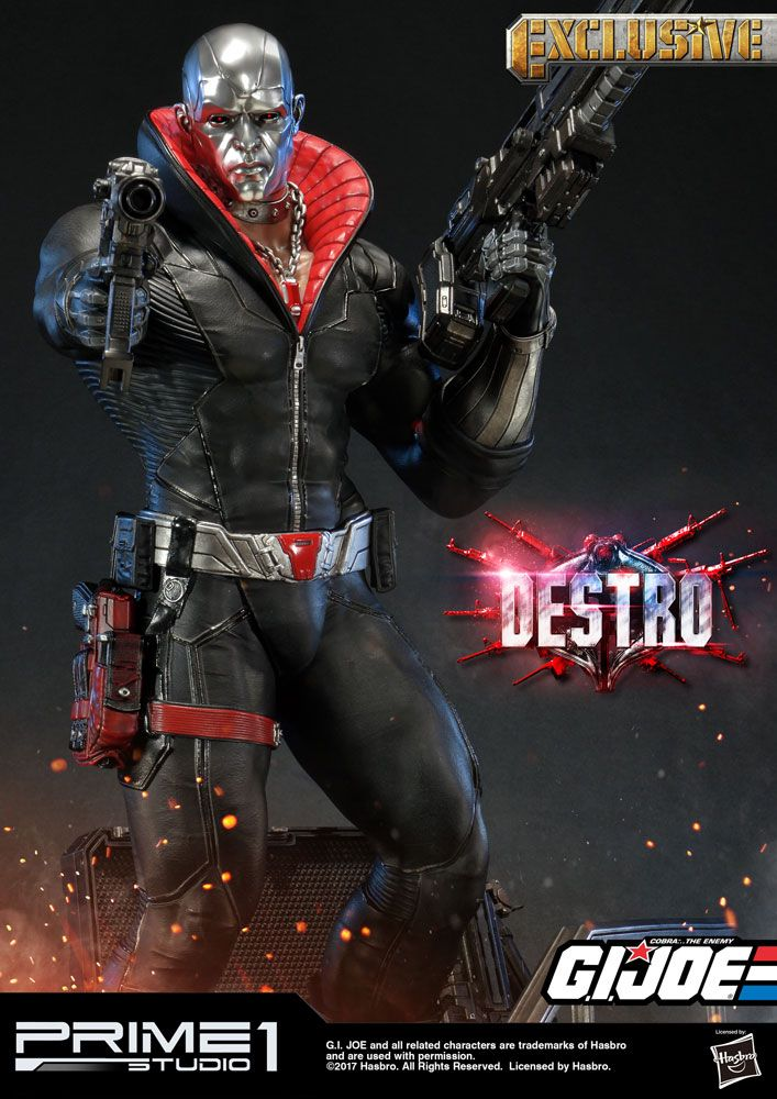 G.I. Joe Statues Destro & Destro Exclusive 68 cm Assortment (3)