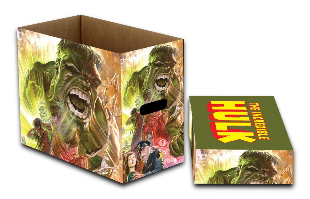 Marvel Storage Boxes Hulk Green Goliath 23 x 29 x 39 cm Case (5)
