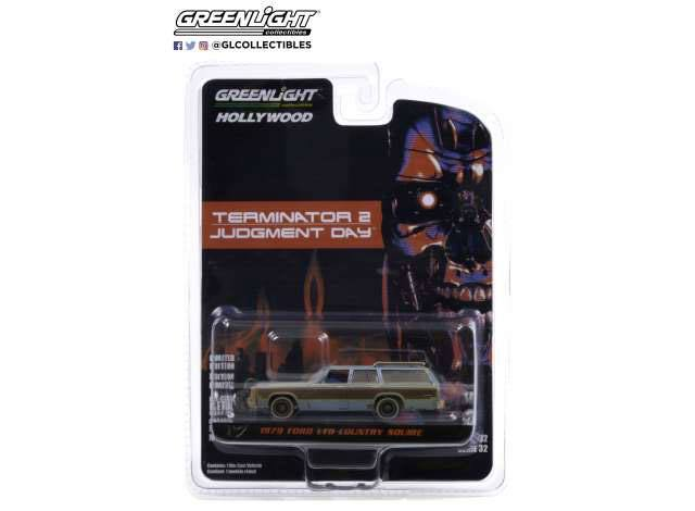 Terminator 2 Judgment Day (1991) Diecast Model 1/64 1980 Ford LTD Country Squire