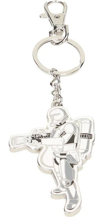 Star Wars Episode VII Metal Key Ring Flametrooper