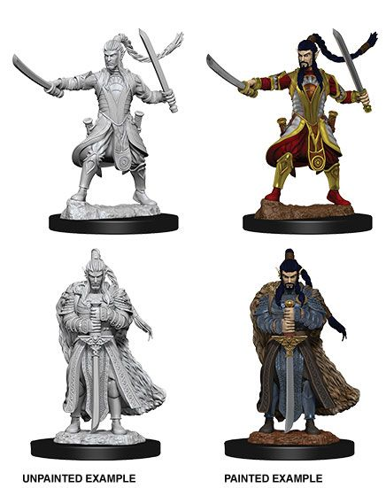 D&D Nolzur's Marvelous Miniatures Unpainted Miniatures Male Elf Paladin Case (6)