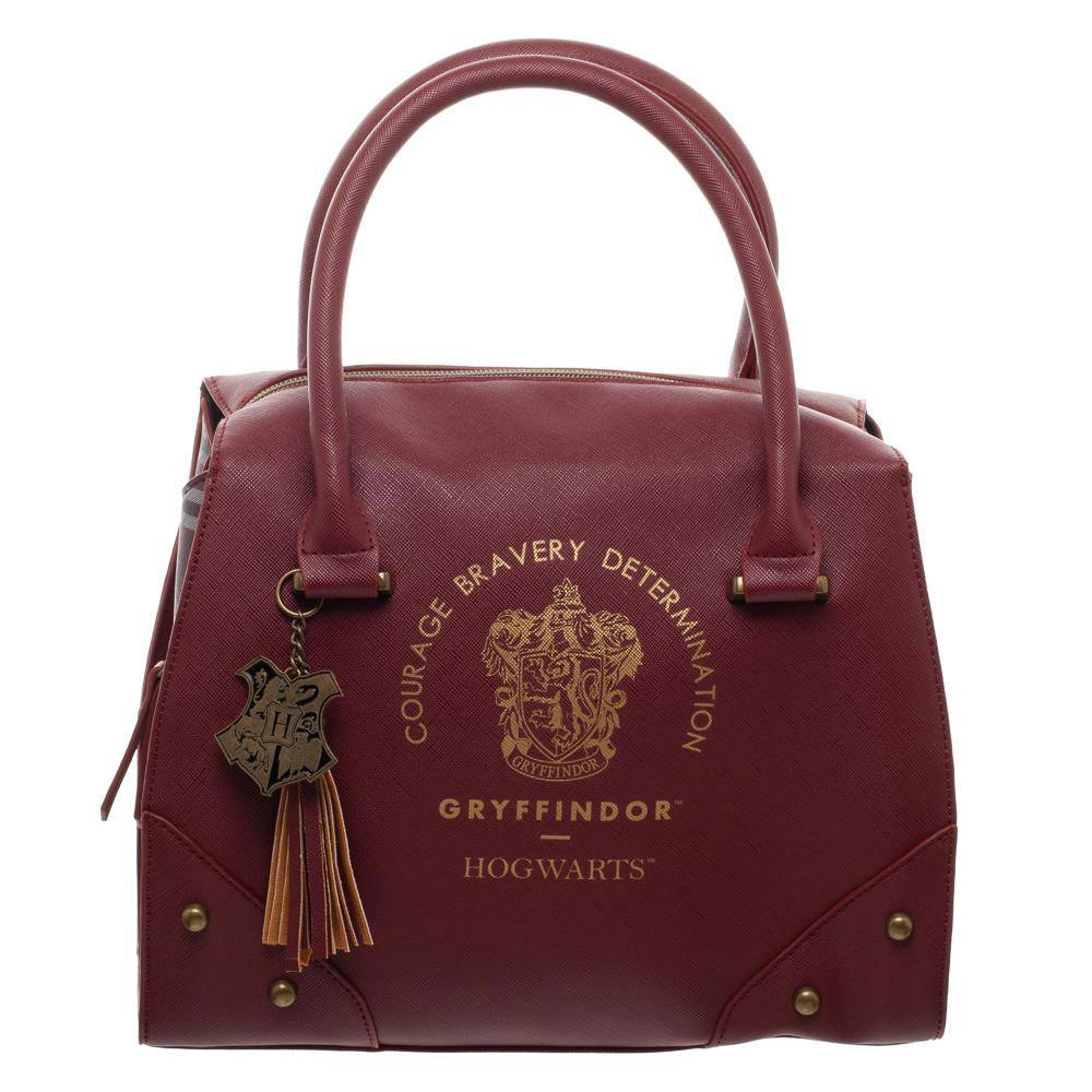 Harry Potter Handbag Gryffindor Plaid Top
