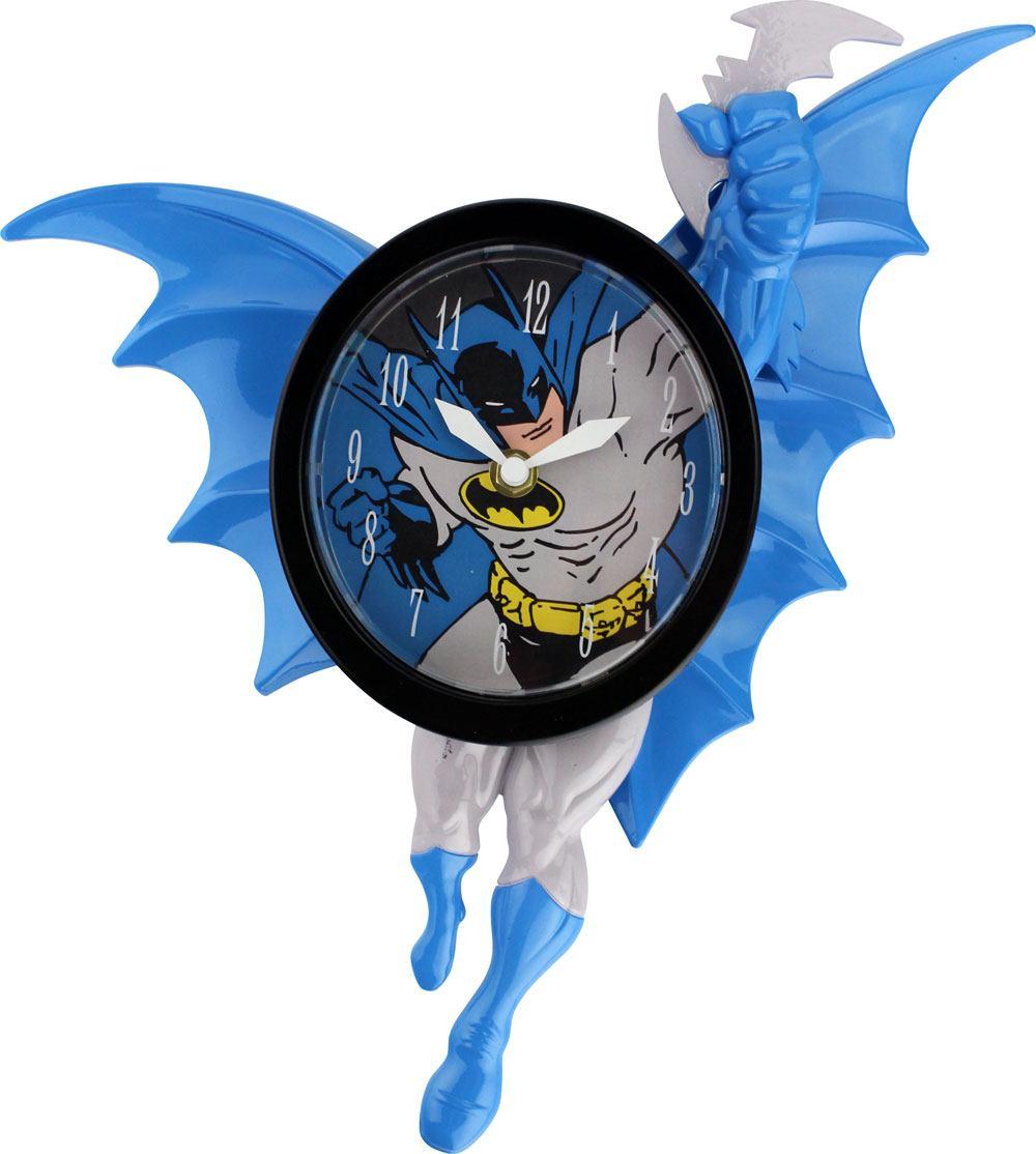 Batman 3D Motion Wall Clock Swinging Batman