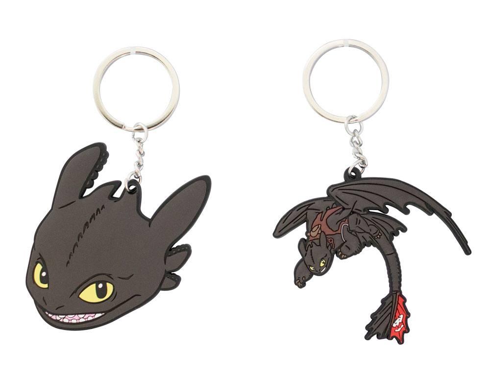 How to Train Your Dragon 3 Vinyl Keychain 5 cm Assortment (12)