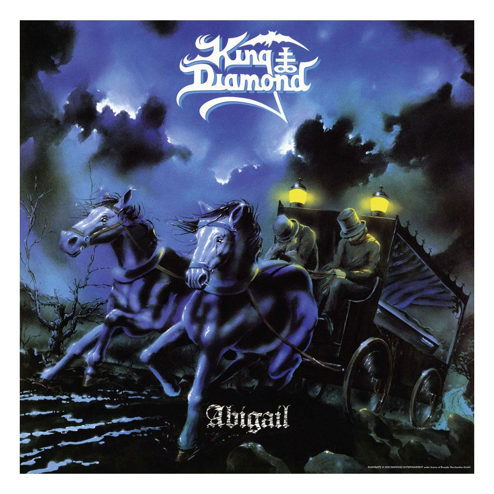 King Diamond Rock Saws Jigsaw Puzzle Abigail (500 pieces)