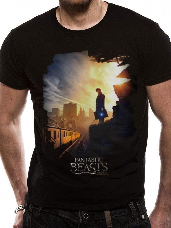 Fantastic Beasts T-Shirt Train Size L